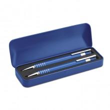 Σετ με στυλό και μηχανικό μολύβι σε μεταλλικό κουτί STA7323